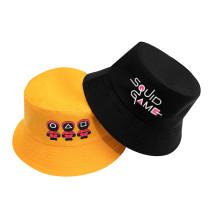 Kpop Squid Game Hat Fisherman Hat Casual Simple Men and Women Basin Hat Sun Hat