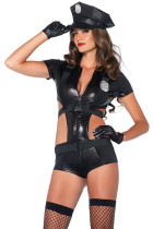 3pcs Sexy Police Women Costume
