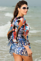 Gauzy Artistic Beach Dress