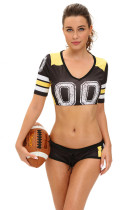 Black Fantasy Football Costume
