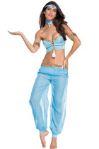 Blue Dancer Sexy Belly Dancer Costume