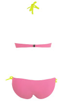 Push-up Halter Bikini Pink