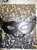 Fantasy Black Eye Masks
