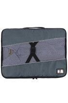Buckle Fix Portable Gray Laundry Storage Bag
