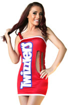 Sexy Twizzlers Party Costume