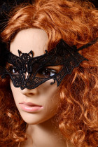 Lace Queen Party Carnival Bat Mask