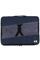 Buckle Fix Portable Navy Laundry Storage Bag