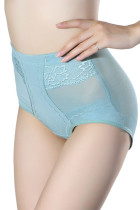 Blue High Waisted Slimming & Firming Girdle
