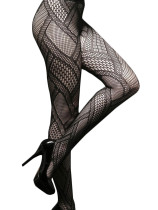 Patchwork Fishnet Pantyhose