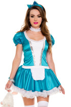 Sexy French Maid Cosplay Costume
