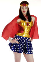 Superhero Miss America Costume