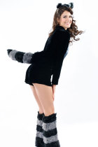 Racy Raccoon Cosplay Costume