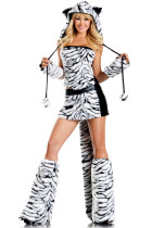 Deluxe Tiger Halloween Costume