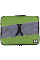 Buckle Fix Portable Green Laundry Storage Bag