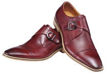 5007JH Men Genuine Leather Shoe Slip-on Leather Lining Oxford Dress Shoes