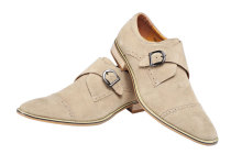 5007XNJ Men Genuine Leather Shoe Slip-on Leather Lining Oxford Dress Shoes