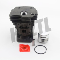 NEW 44MM CYLINDER PISTON KIT FOR HUSQVARNA 445 445e 450 CHAINSAW # 544 11 98 02