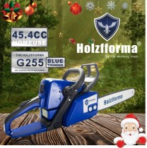 45.4cc Holzfforma Blue Thunder G255 Gasoline Chain Saw Power Head Only Without Guide Bar and Saw Chain All Parts Are Compatible With MS250 MS230 MS210 025 023 025 Chainsaw