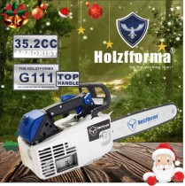 35.2cc Holzfforma G111 Top Handle Gasoline Chain Saw Power Head Only Without Guide Bar and Saw Chain All Parts Are Compatible With MS200T 020T Chainsaw