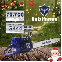 71cc Holzfforma Blue Thunder G444 Gasoline Chain Saw Power Head Without Guide Bar and Chain Top Quality By Farmertec One year warranty All parts are compatible with MS440 044 Chainsaw