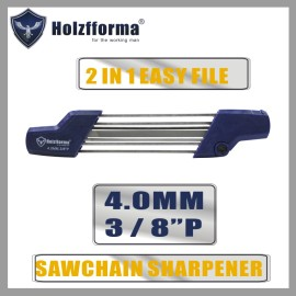 Holzfforma® 2 IN 1 Easy File 3/8  P 4.0mm Chainsaw chain sharpener Replace Stihl 5605 750 4303