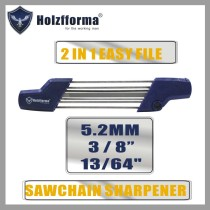 2 IN 1 Easy File 3/8  13/64  5.2mm Chainsaw Chain Sharpener 5605 750 4305