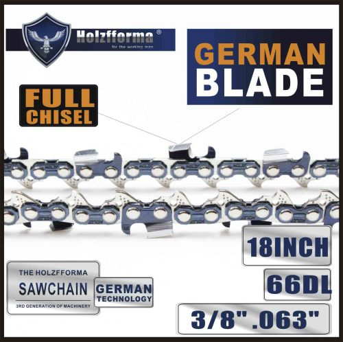 3/8  .063   18inch  66 Drive Links  Saw Chain  For Many Stihl Chainsaws Like MS361 MS362 MS380 MS390 MS440 MS441 MS460 MS461 MS660 MS661 MS650