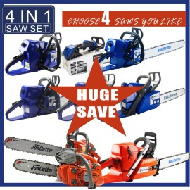 4IN1 SAW SET POWER HEAD ONLY PICK FOUR UNITS Holzfforma JonCutter Prebuilt Chain Saws G660 G466 G444 G388 G366 G255 G111 G372 G372XP G2500 G4500 G5800 Without bar and chain
