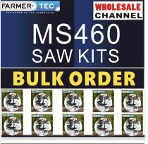 MS460 10 SAWKITS BULK ORDER(Minimum Order Quantity 10 Sets) Complete aftermarket repair kits Compatible with Stihl MS460 046