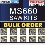 MS660 10 SAWKITS BULK ORDER(Minimum Order Quantity 10 Sets) Complete aftermarket repair kits Compatible with Stihl MS660 066