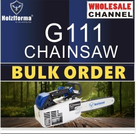 10 SAW BULK ORDER(Minimum Order Quantity 10 units) 35.2cc Holzfforma® G111 Gasoline Chain Saws Power Head Without Guide Bar and Chain By Farmertec All parts are compatible with MS200T 020T Chainsaw