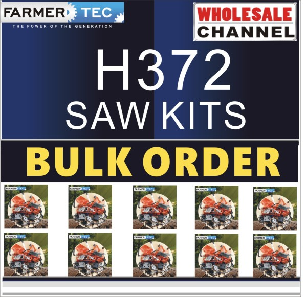 H372 10 SAWKITS BULK ORDER(Minimum Order Quantity 10 Sets) Complete aftermarket repair kits for Husqvarna 362 365 371 372XP