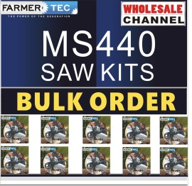 MS440 10 SAWKITS BULK ORDER(Minimum Order Quantity 10 Sets) Complete aftermarket repair kits for Stihl MS440 044