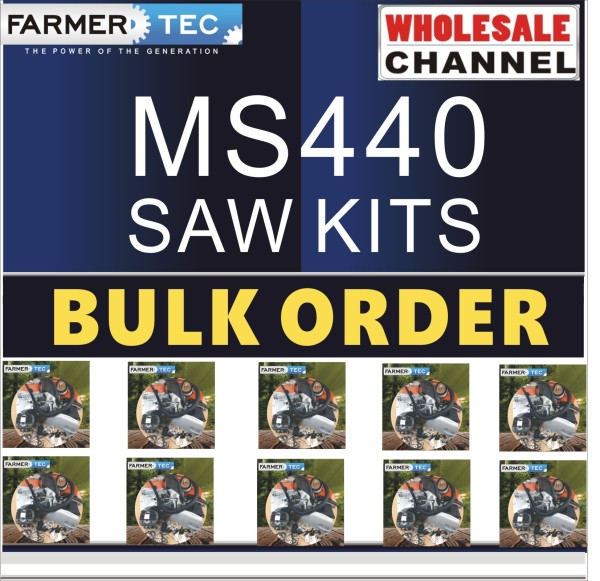 MS440 10 SAWKITS BULK ORDER(Minimum Order Quantity 10 Sets) Complete aftermarket repair kits Compatible with Stihl MS440 044