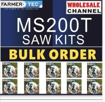 MS200T 10 SAWKITS BULK ORDER(Minimum Order Quantity 10 Sets) Complete aftermarket repair kits for Stihl MS200T 020T