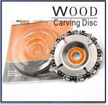 4inch  or 4-1/2  Grinder Disc With Chain Wood Carving Disc for Angle Grinders