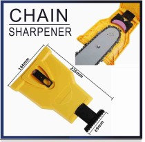 Chainsaw Bar-Mount Chain Sharpener Portable Easy Use Sharpening Kit