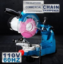 US CA 110V 230W Electric Chainsaw Chain sharpener Grinder With 2 Grinding Wheels and Tools