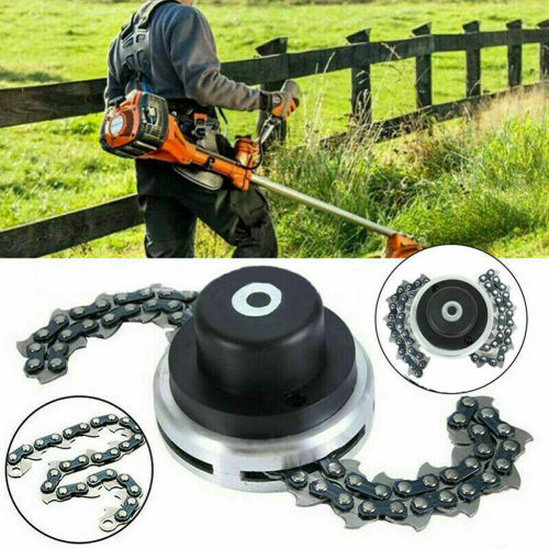 65Mn Trimmer Head With Chain For Stihl Husqvarna Echo and Chinese Brands Brush Cutter Trimmer Lawn Mower