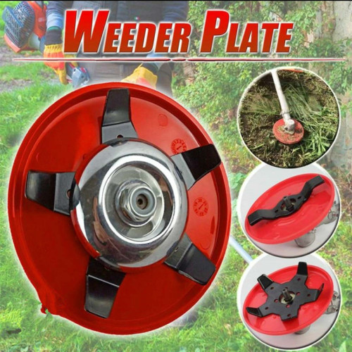 2IN1 Farmertec 6 inch Weed Trimmer Head Arbor Hole Size 25.4mm(1inch) For STIHL HUSQVARNA ECHO and Many other brands