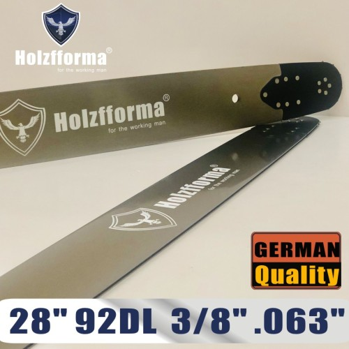 Holzfforma® Pro 28inch 3/8  .063 92DL 3003-000-6041 Guide Bar For Many Stihl Chainsaws like Stihl MS361 MS362 MS380 MS390 MS440 MS441 MS460 MS461 MS660 MS661 MS650