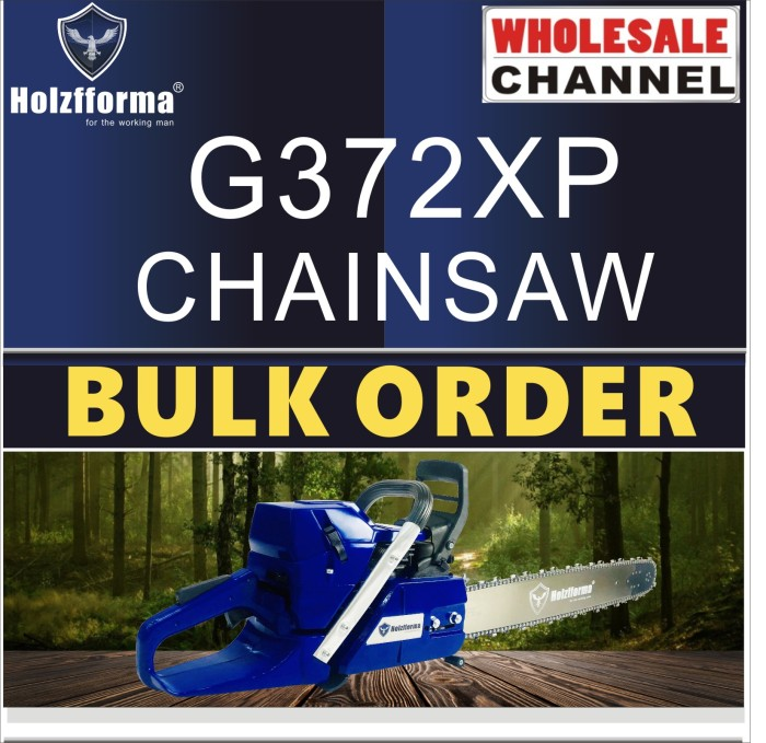 10 SAW BULK ORDER(Minimum Order Quantity 10 units) 71cc Holzfforma® G372XP Gasoline Chain Saws Power Head Without Guide Bar and Chain Top Quality All parts are For H362 365 372 Chainsaw