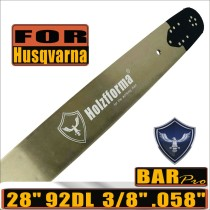 Holzfforma® Pro 3/8 .058  28inch 92DL Guide Bar For Many Husqvarna Chainsaws like Husqvarna  61 66 266 268 272 281 288 365 372 385 390 394 395 480 562 570 575