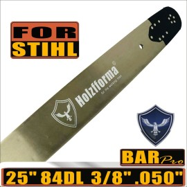 Holzfforma® Pro 24 or 25inch 3/8 .050 84DL Guide Bar For Stihl MS360 MS361 MS362 MS380 MS390 MS440 MS441 MS460 MS461 MS660 MS661 MS650