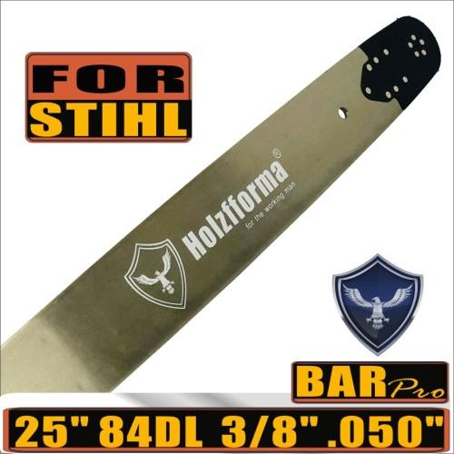 Holzfforma® Pro 24 or 25inch 3/8 .050 84DL Guide Bar For Stihl MS360 MS361 MS362 MS380 MS390 MS440 MS441 MS460 MS461 MS660 MS661 MS650