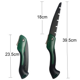 18cm (7 inch) Blade Small Hand Saw Portable Folding Pruning Saw (updated version type blade) For Trimming Wood Tree Garden Woodworking