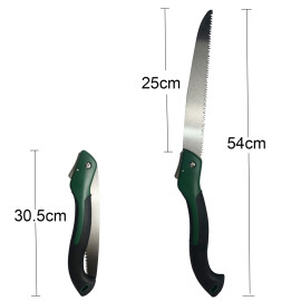 25cm (10 inch) Blade Big Size Hand Saw Portable Folding Pruning Saw (general type blade) For Trimming Wood Tree Garden Woodworking