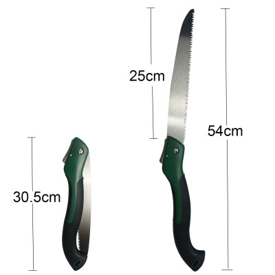 Blade Pruning Hand Saw With Sheath For Trimming Branches Shrubs 270mm 11 inch