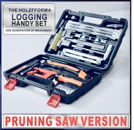Pruning Saw Version Tool Set Logging Handy Set Flywheel Puller Chainsaw Bar Filing Stump Vise Chain File Sharpener 4.0mm 4.8mm 5.5mm Sharpening Kit T27 Screw driver Starter Handle Screws Nuts
