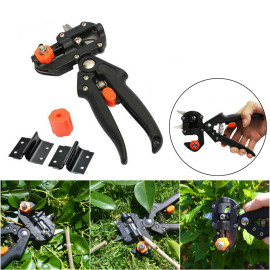 Garden Secateurs Grafting Machine Nursery Fruit Tree Pro Pruning Pruner Shears Scissor Cutting Tool Set With 2 More Blades